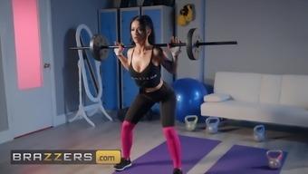 Dirty Masseur - Katrina Jade Danny D - Post Workout Rubdown