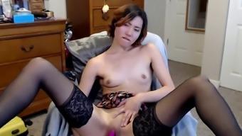 Horny asian camgirl
