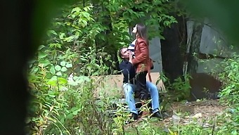 amateur sex with russian prostitute in the park
