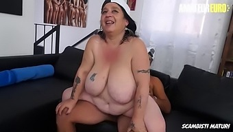 Amateur euro mature bbw jessica grandi gets fucked for the first time on cam
