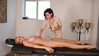 Katie Banks and Bryci - Massage Therapy