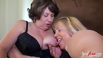 Two mature ladies got drilled really hardcore and they loved it