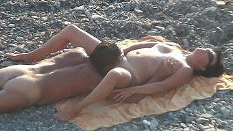 That's the video I like to fap to and this slut loves fucking on the beach