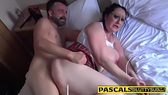 Tied Up Slut Deepthroats And Rides Thick Dick