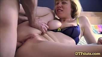 Adrianna Nicole Takes A Load To Her Perfect Bouncy Tits
