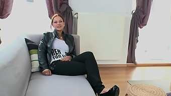 Busty chick Abbie Cat enjoys getting fucked by a black shaft