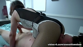 Akira Shell & Pierce Paris in Edged and Milked by the Hospital Maid - SweetFemdom