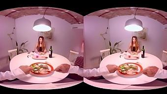 Gina Gerson & Misha Cross in How I Met Misha Ep. 4 - VirtualRealPorn